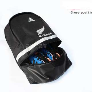 ALL BLACKS RUGBY BAGPACK SHOES BAG