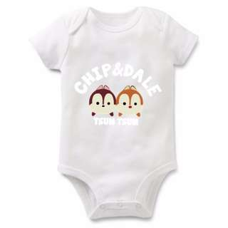 Disney Chip and Dale Tsum Tsum Baby Romper