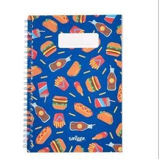 Smiggle ringlet metallic icon A5 book rm13 NEW