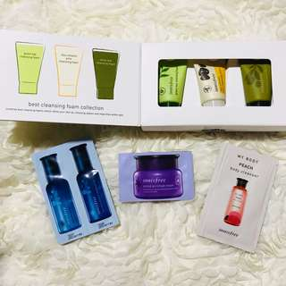 Innisfree Best Cleansing Foam Collection (3 pcs.)