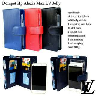 Dompet hp alexia max LV jelly