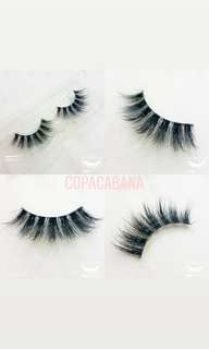 🚚 High quality 3d mink lashes (clear band)