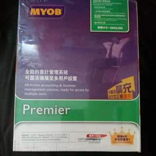 Myob Premier V13