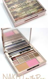 Naked on the run - urban decay