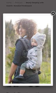 Baby Carrier kinderpack bearly sleeping with koolknit kp