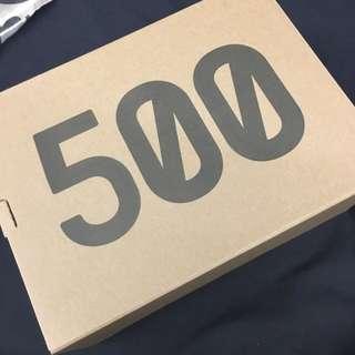 Yeezy 500 Blush US5 UK4.5