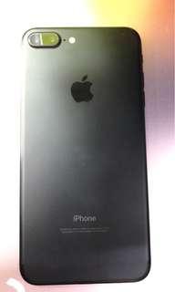 iPhone 7 Plus磨沙黑128Gb香港行貨 有保養