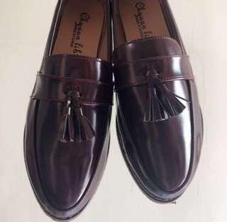 全新 酒紅色平底鞋 #超取半價