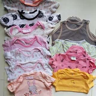 Buy ALL Baby Girl Romper Onesies (3 - 12 Months)