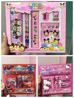 Cartoon Stationery Set