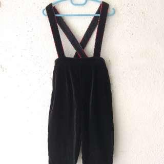 Black Boy's Jumpsuit