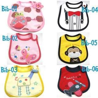 Baby Bib (cute designs)
