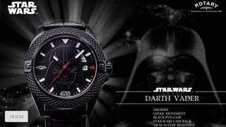 Star War x Rotary - Darth Vader Watch
