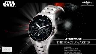 Star War x Rotary - The Force Awakens Watch
