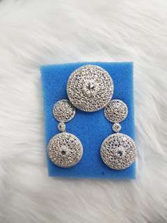 HK Imported white gold dangling