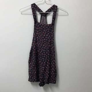 Cotton On Floral Dungarees size xs