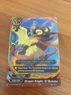 Buddyfight Card Dragon Knight ,El Quixote RR