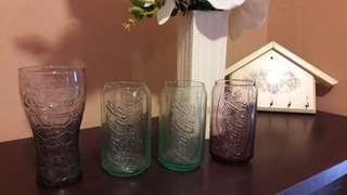 Coca cola glass collection