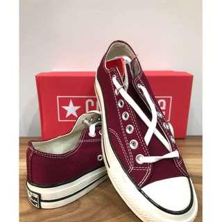 Sepatu Converse 70s Low maroon