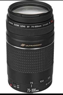 Canon EF 75-300mm f/4-5.6 III USM Lens Mark 3