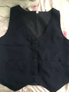 Vest navy blue for kids