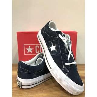Sepatu Converse One star dressblue