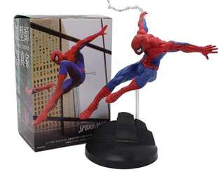 Spiderman action toy figure