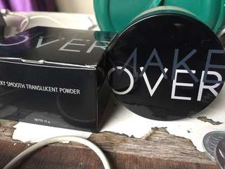 Make over silky smooth translucent powder shade 02 rosy