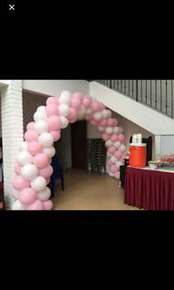 Balloon arch for parties