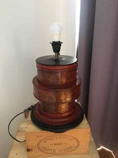 Chinese lamp base only (no shade)