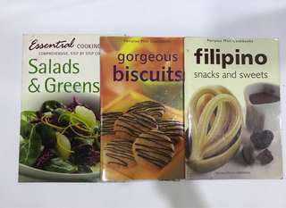 Bundle of 3 Mini Cookbooks