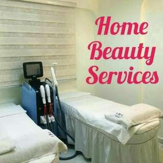 Facial/ Home Beauty services