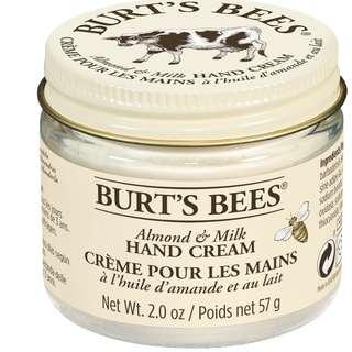 Burt's Bees Beeswax Hand Creme Almond 2.0 oz.