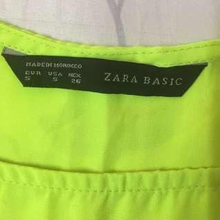 ‼️ MOVING OUT SALES ‼️ Zara Neon Dress