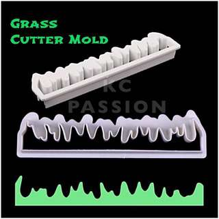 🌾 GRASS CUTTER MOLD TOOL  Cake Decorating Tool for Cookies • Fondant Cake & Cupcake • Bread Dough • Pastry • Sugar Craft • Jelly • Gum Paste • Polymer Clay Art Craft •