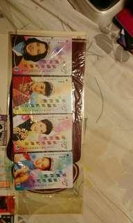 香港小姐地鐵卡都是150元 一套四張 價錢可以再傾