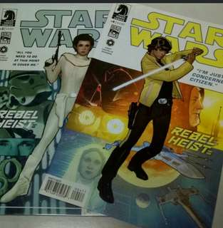 DARK HORSE COMICS STAR WARS #2 & #4