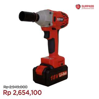 SURPASS 18V Cordless Impact Wrench PS010323