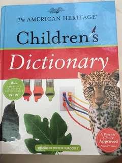 Children's dictionary (pictorial)