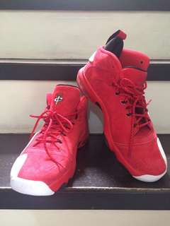 Nike Air Penny 6 ( University Red, Red Suede) Brandnew/Original