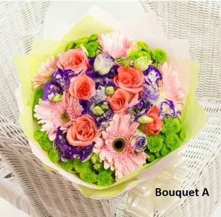 Mother's Day Bouquet (Rose & Gerbera) (Usual price $68)