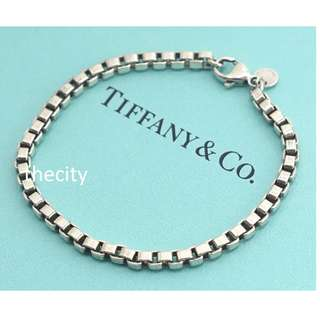 AUTHENTIC TIFFANY & CO VENETIAN LINK BRACELET -  IN SILVER -