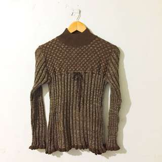 Raphea Knitted Pull Over (Size: S-M)