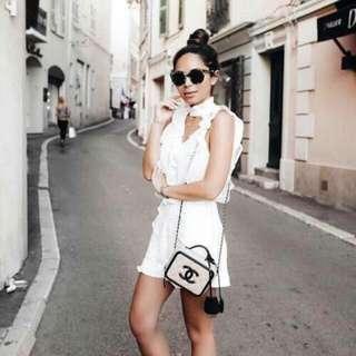 Chanel CC Filigree Vanity Case