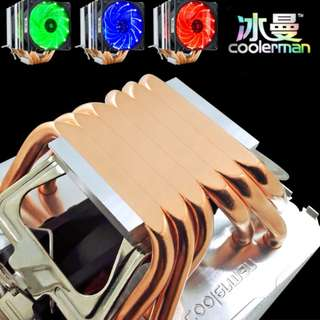 Coolerman 6 copper tube CPU cooler