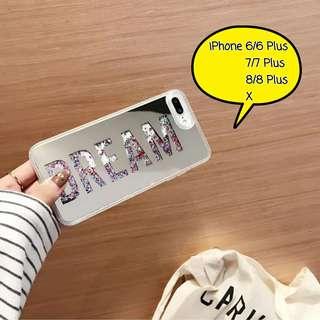 鏡面流沙iPhone殼[2色] Mirror Liquid Glitter iPhone Case[2 colors]