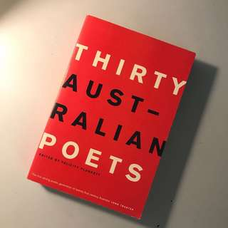 Australian Poetry book