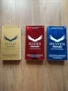 Novel seri Halo, Hades, Heaven by Alexandra Adornetto