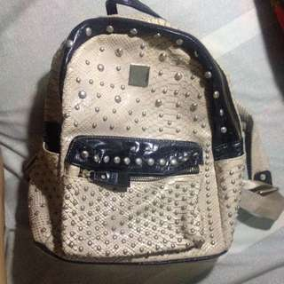 Parisian Studded Bag / Knapsack
