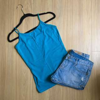 Forever 21 Cami (Sea Green)